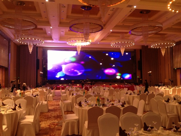 p6 indoor led display with die-casting aluminum cabinet export Paraguay