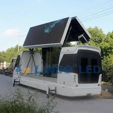 New Mobile Advertising - Video Advertising LED Screen Truck led truck and trailer led display