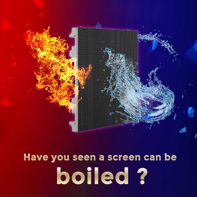 boilable screen